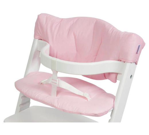 HOCHSTUHLEINLAGE - Rosa, Basics, Textil - My Baby Lou