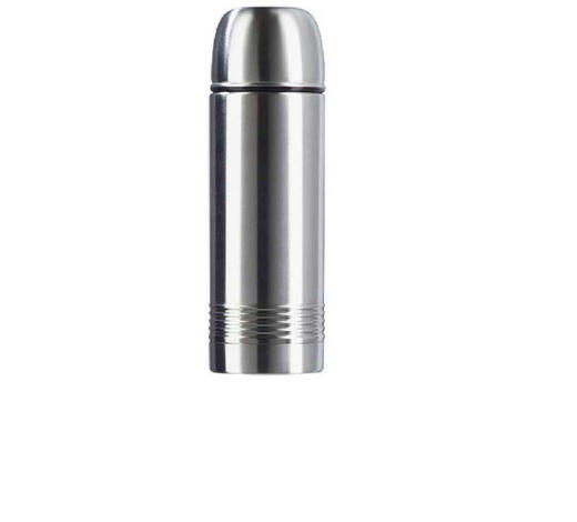 ISOLIERFLASCHE 0,5 L - Edelstahlfarben, Basics, Metall (0,5l) - Emsa