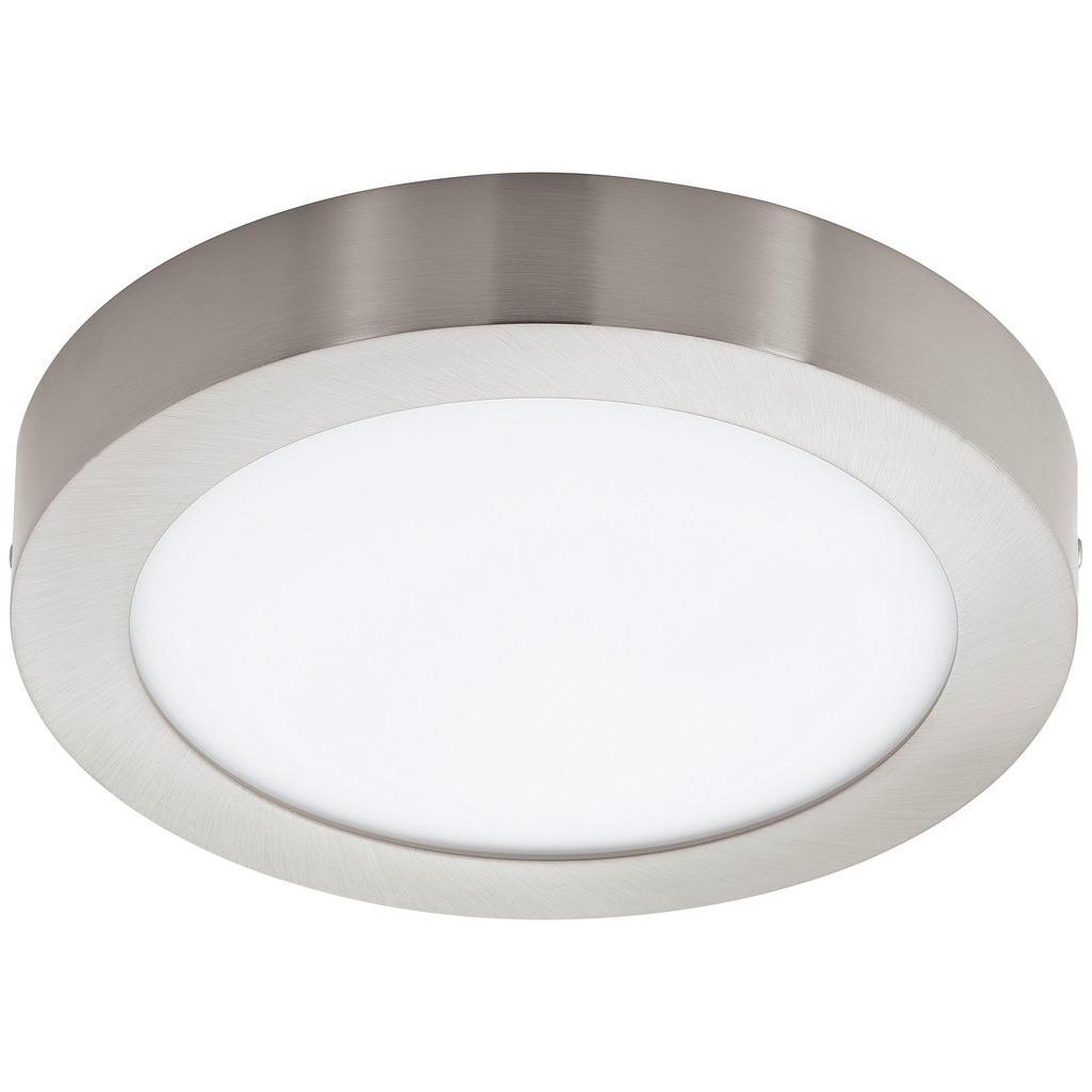 Image of XXXLutz Aufbauleuchte led-leuchtmittel , 96677 Fueva-C , weiss, Nickelfarben , Metall, Kunststoff , 4 cm , matt, vernickelt,matt , 003348041001