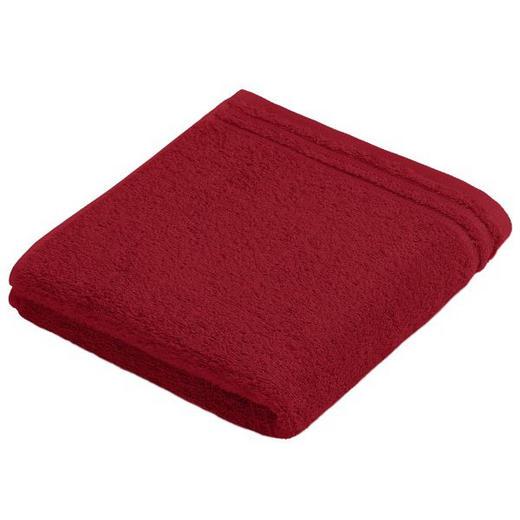 HANDTUCH 50/100 cm - Rot, Basics, Textil (50/100cm) - VOSSEN