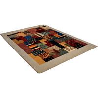 ORIJENTALNI TEPIH - višebojno/bež, Basics, daljnji prirodni materijali (70/140/cm)