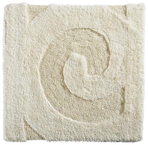 BADTEPPICH  Creme  60/60 cm - Creme, Basics, Kunststoff/Textil (60/60cm) - Ambiente