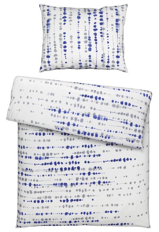 BETTWÄSCHE 140/200/ cm - Blau/Grau, LIFESTYLE, Textil (140/200/cm) - Fussenegger
