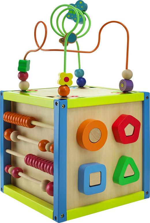 SPIELWÜRFEL - Multicolor, Basics, Holz (25/25/25cm) - My Baby Lou