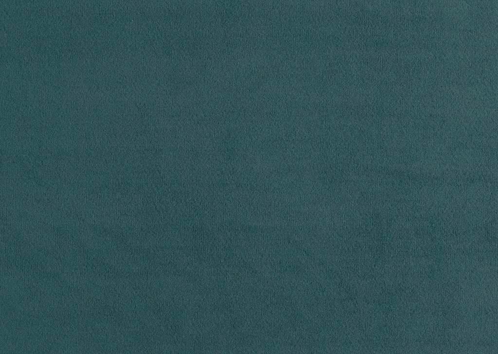 POHOVKA - tmavě hnědá/modrá, Design, textil/dřevěný materiál (200/80/87cm) - CARRYHOME
