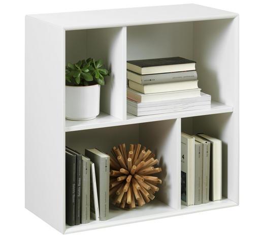 REGAL in 70/70/32 cm Weiß - Weiß, MODERN, Holzwerkstoff (70/70/32cm) - Lomoco
