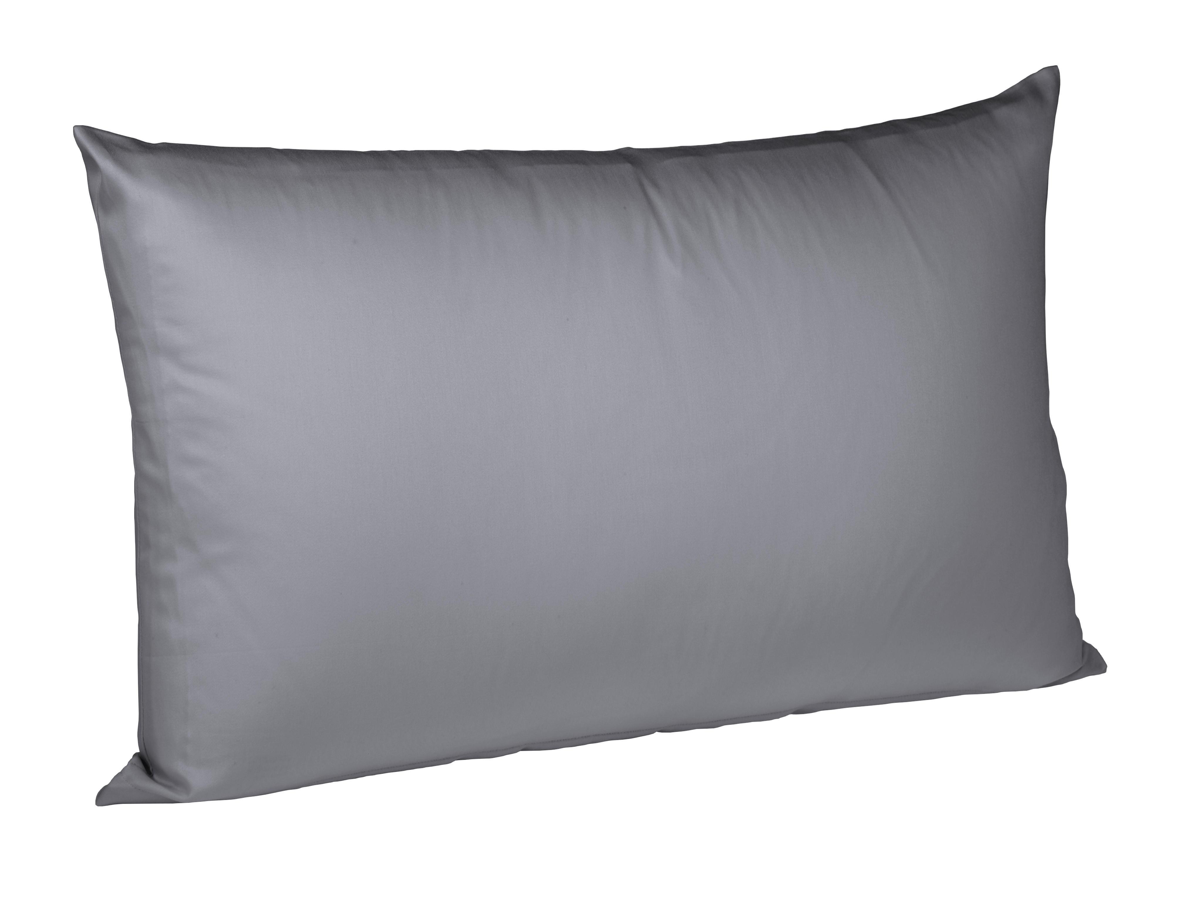 KISSENHÜLLE Graphitfarben 40/80 cm - Graphitfarben, Basics, Textil (40/80cm) - FLEURESSE