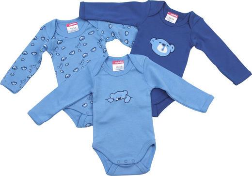 BABYBODY-SET - Blau, Basics, Textil (62/68) - My Baby Lou