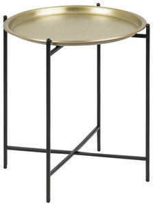 POMOĆNI STOČIĆ - Crna/Boja mesinga, Lajfstajl, Metal (39,5/48cm) - Carryhome