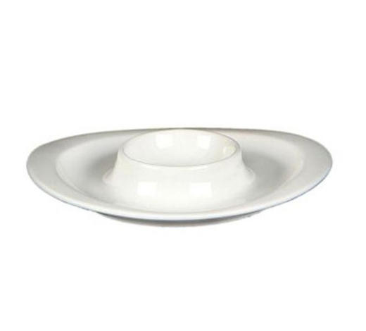 EIERBECHER Keramik - Weiß, Basics, Keramik (13cm) - Novel