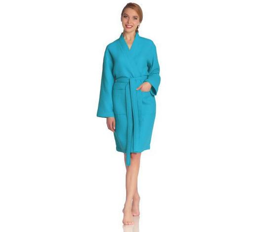 BADEMANTEL  Blau - Blau, Basics, Textil (Lnull) - Vossen