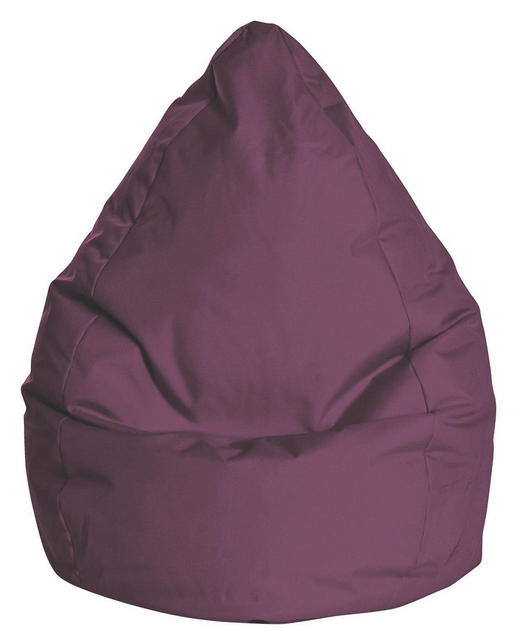 SITZSACK - Aubergine, Design, Textil (90/70cm) - Carryhome