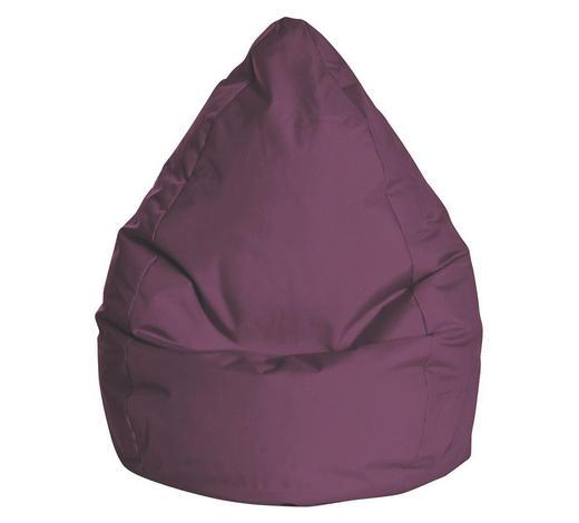 SITZSACK Aubergine - Aubergine, Design, Textil (90/70cm) - Carryhome