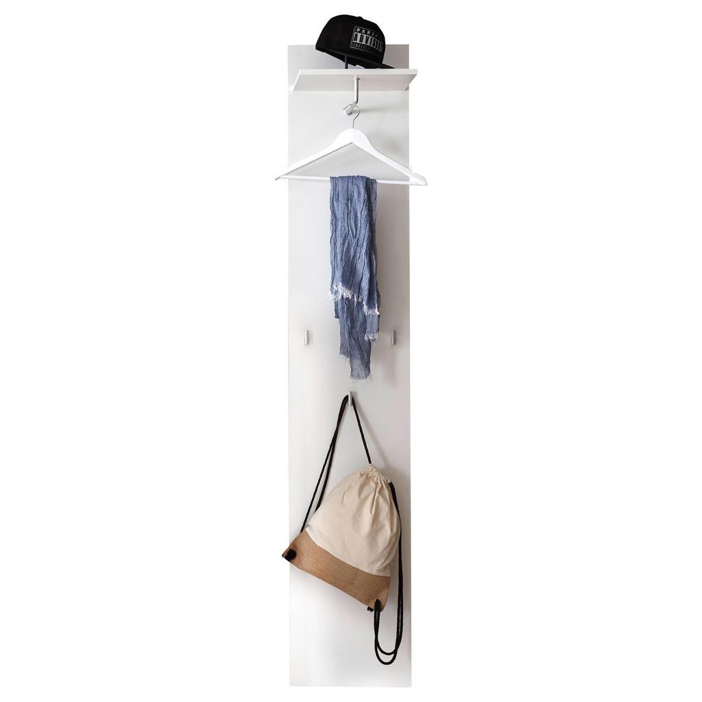 Carryhome Garderobenpaneel weiß