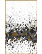 SLIKA - bijela/siva, Design, drvo/metal (70/120cm) - Monee