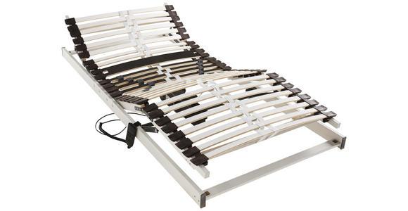 LATTENROST 90/200 cm  - Hellgrau/Braun, Basics, Holz (90/200cm) - Dieter Knoll