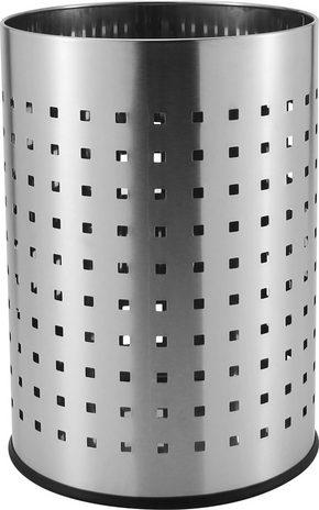 PAPPERSKORG - rostfritt stål-färgad, Basics, metall (25,5/35,5cm) - Homeware