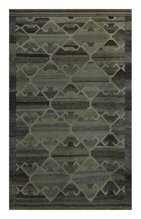 HANDVÄVD MATTA - ljusgrå, Lifestyle, textil (130/190cm) - Linea Natura