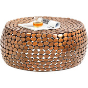Couchtisch in Kupferfarben - Kupferfarben, Trend, Metall (81/36cm) - Carryhome