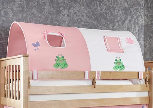 TUNNELSET Rosa, Weiß - Rosa/Weiß, Design, Textil