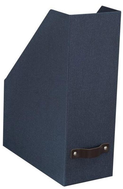 STEHSAMMLER Karton Blau - Blau, Basics, Karton (25/12/32cm) - Boxxx