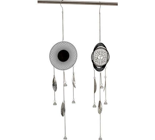 Traumfänger-Set Metall  - Silberfarben, Metall (85cm)
