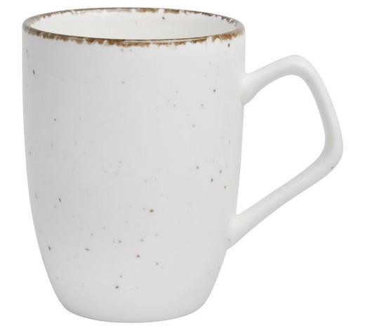 KAFFEEBECHER 320 ml - Creme, Trend, Keramik (11cm) - Ritzenhoff Breker