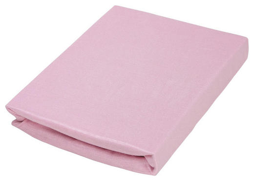 KINDERSPANNLEINTUCH - Rosa, Basics, Textil (70/140cm) - Träumeland