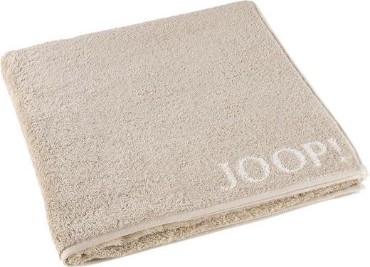 DUSCHTUCH 80/150 cm - Beige, Basics, Textil (80/150cm) - JOOP!