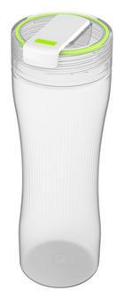 TRINKFLASCHE - Klar/Grün, Basics, Kunststoff (8/8/19,1cm) - ROTHO