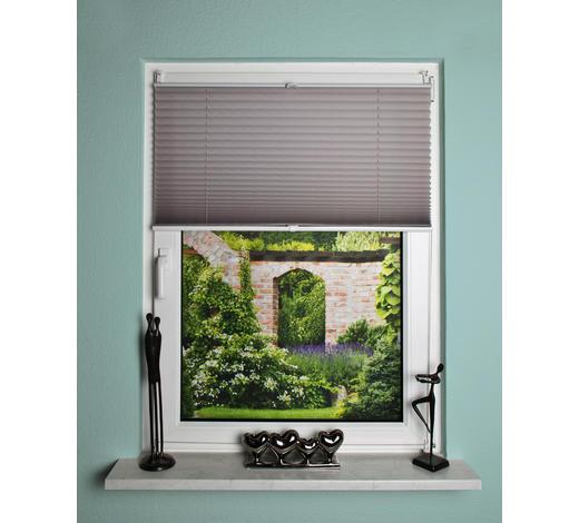 PLISSEE - Grau, Design, Textil (90/130cm)
