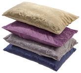 Zierkissen Venezia 48x48 cm - Sandfarben/Blau, KONVENTIONELL, Textil (48/48cm) - Ombra