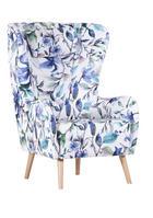 FOTELJ  večbarvno tekstil - bukev/večbarvno, Design, tekstil/les (78/115/46/89cm) - CARRYHOME