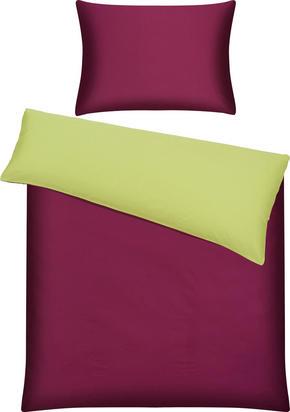 PÅSLAKANSET - grön/aubergine, Basics, textil (150/210cm) - Novel