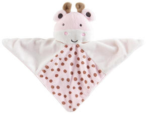 SNUTTEFILT - vit/rosa, Basics, textil (20,5/20,5cm) - My Baby Lou