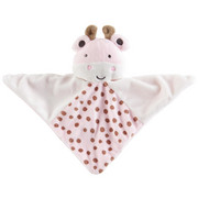 SCHMUSETUCH - Rosa/Weiß, Basics, Textil (20,5/20,5cm) - MY BABY LOU