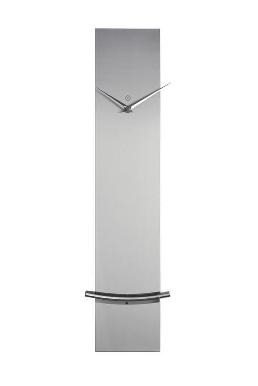 WANDUHR  Schwarz - Schwarz, KONVENTIONELL, Metall (60/12/5cm)
