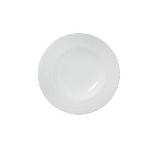 TALÍŘ NA POLÉVKU, porcelán - bílá, Design, keramika (23,3cm) - Novel