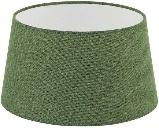 LEUCHTENSCHIRM  Grün  Textil  E27 - Grün, Design, Textil (30/16,5cm) - Marama