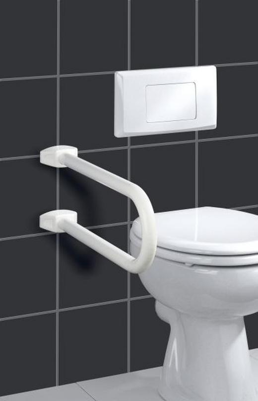 SICHERHEITSBÜGEL Weiß - Weiß, Design, Kunststoff (10/21/53cm)