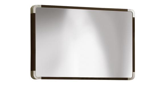SPIEGEL 94/61/6 cm  - Wengefarben, Design, Glas/Holzwerkstoff (94/61/6cm) - Moderano