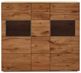 HIGHBOARD 153/136/39 cm  - Champagner, KONVENTIONELL, Holz/Metall (153/136/39cm) - Voleo