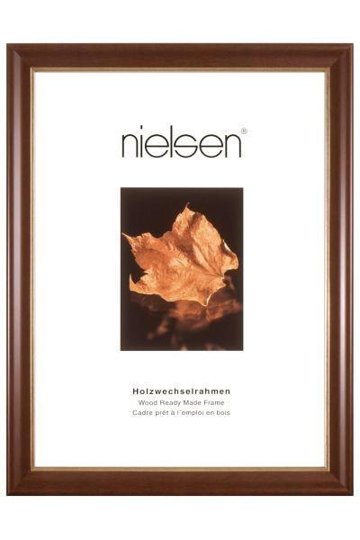 BILDERRAHMEN  Dunkelbraun - Dunkelbraun, Holz (24/30cm)
