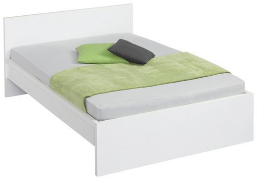 BETT 140/200 cm - Weiß, Design, Holzwerkstoff (140/200cm) - Carryhome