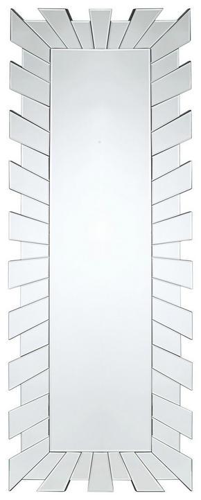 SPEGEL - silver, Design, glas (60/160/2cm) - Xora