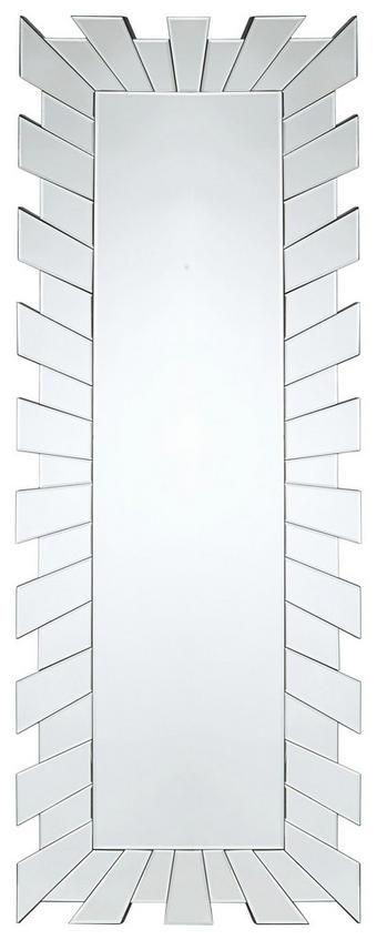 ZRCADLO - barvy stříbra, Design, sklo (60/160/2cm) - XORA