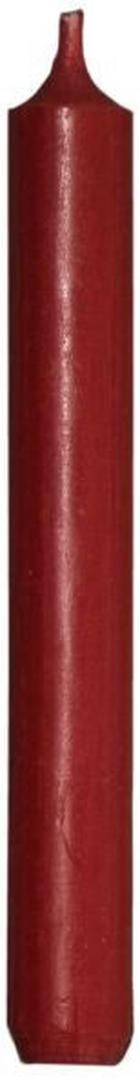 SVÍČKA - tmavě červená, Basics (18cm)