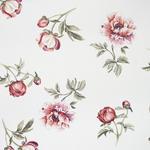 DEKOSTOFF per lfm Verdunkelung - Hellrot/Weiß, Trend, Textil (140cm) - Esposa