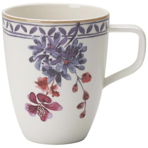 KAFFEEBECHER - Multicolor/Weiß, LIFESTYLE, Keramik (0,380l) - Villeroy & Boch