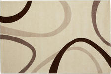 Webteppich Joyce 120x170 cm - Beige, KONVENTIONELL, Textil (120/170cm) - Ombra